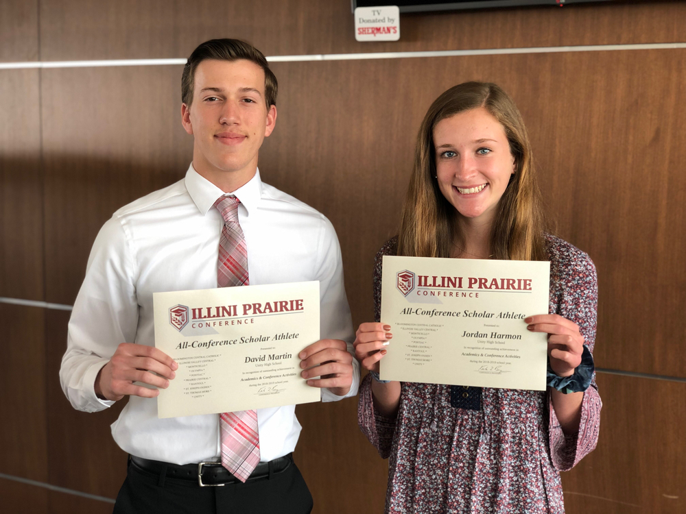 Illini Prairie All Conference Scholar Athletes