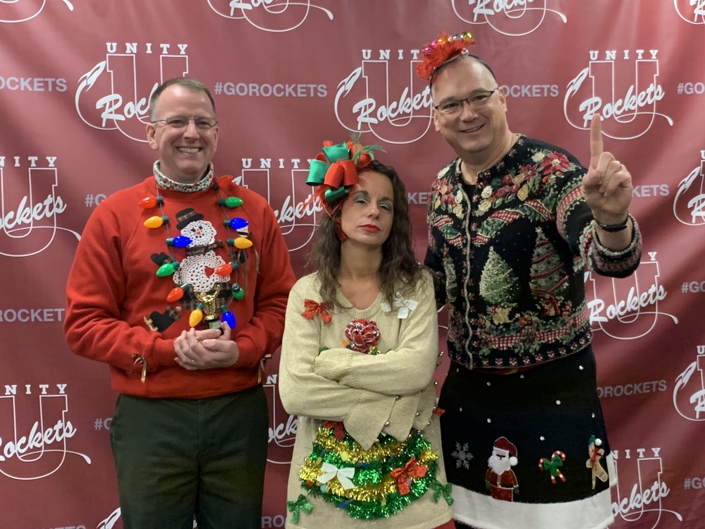 Staff Ugly Christmas Sweater Contest