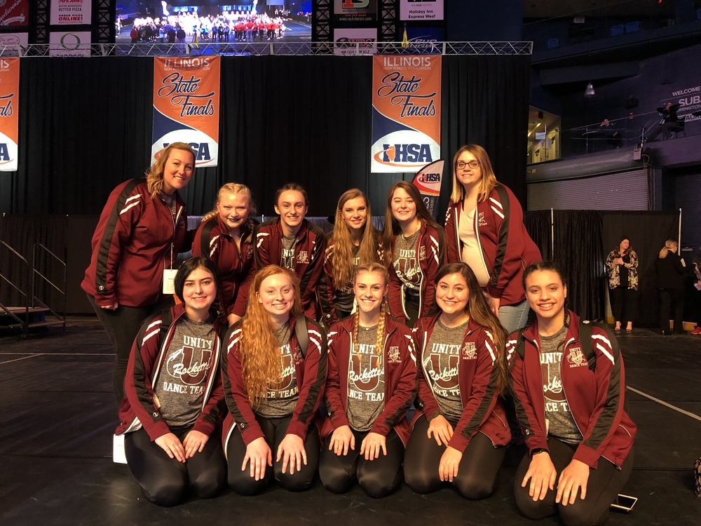 Congratulations Unity Rockets Dance Team