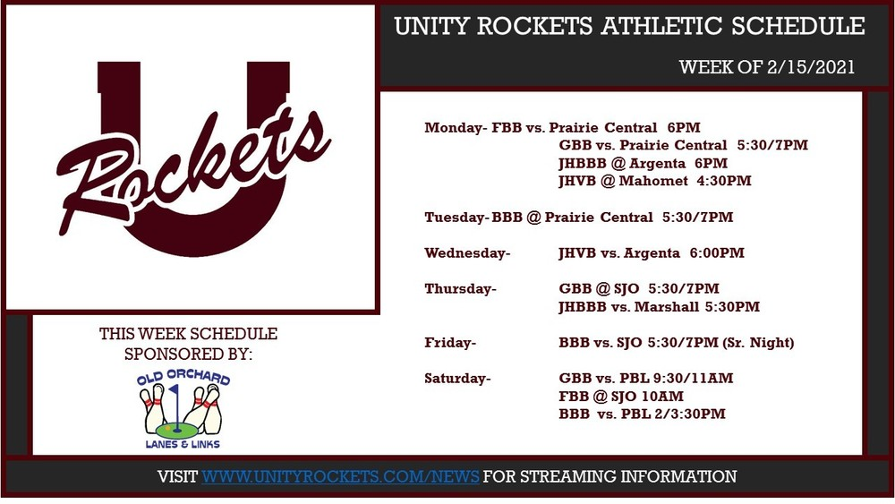 Unity Rocket Athletics