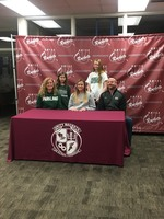Congratulations to Katie Kaiser on her commitment to continue her volleyball and academic career at Parkland College!
