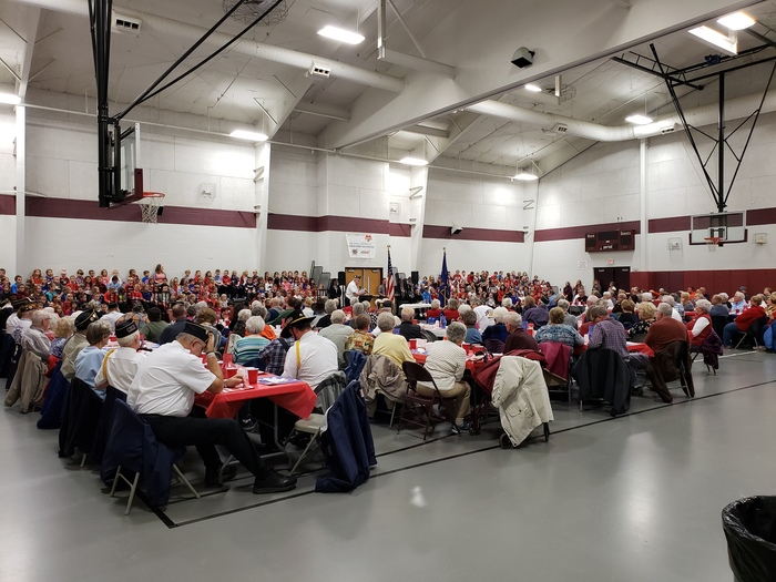 Thanksgiving Luncheon & Veterans Day Program 2018