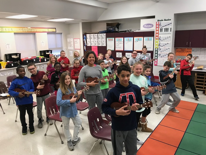 5th Grade Ukulele lesson