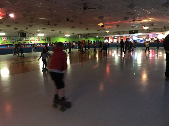 East & West Skate Night