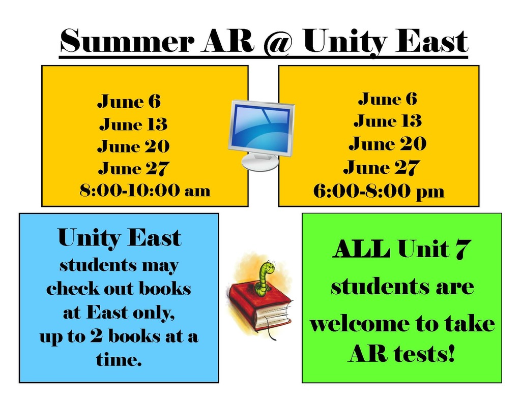 East Summer Library Schedule